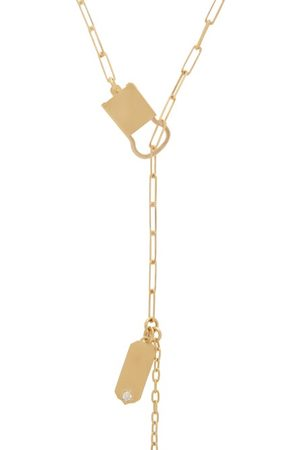 Jade Trau Betty Diamond & 18kt Necklace