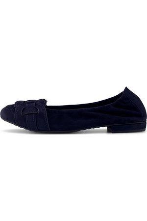 Kennel & Schmenger Damen Ballerinas - Ballerina Malu in dunkelblau, Ballerinas für Damen