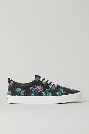 H&M Damen Gemusterte Sneaker