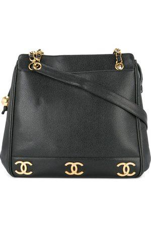 CHANEL Logo chain shoulder bag