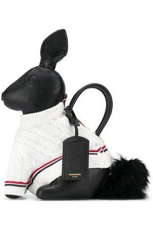 Thom Browne Rabbit' Handtasche mit Strickpullover