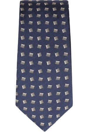Dolce & Gabbana Seidenkrawatte mit geometrischem Print