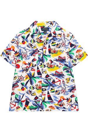 Ralph Lauren Bedrucktes Hemd aus Baumwolle