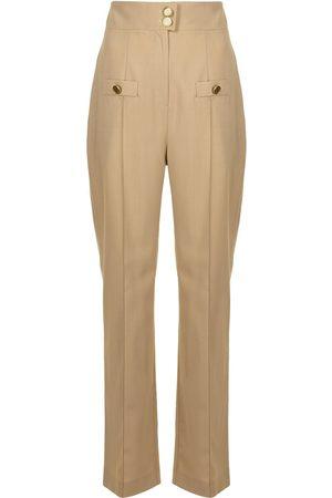 George Keburia Damen Hosen & Jeans - Hose mit geradem Bein