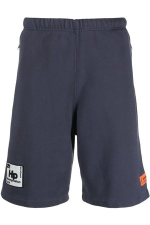 Heron Preston SWEATSHORTS PERIODIC ANTHRACITE WHITE