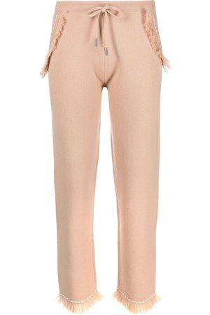 Max & Moi Damen Hosen & Jeans - Hose mit Kontrastnähten