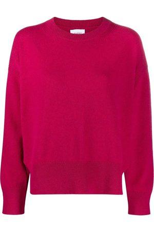 Barrie Damen Strickpullover - Pullover mit seitlichen Schlitzen