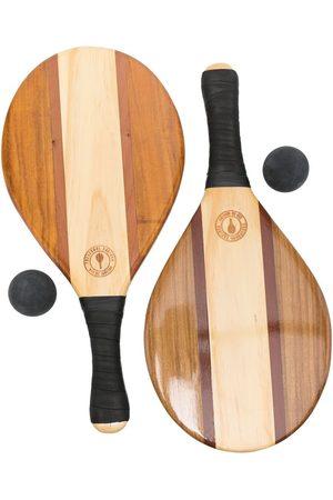 10 CORSO COMO Lacquer-finish racket set