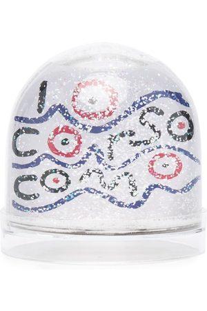 10 CORSO COMO Waves-print glittery snowball