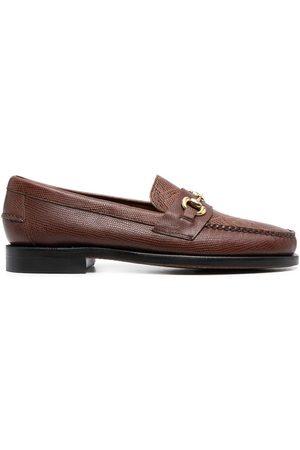 Sebago Herren Halbschuhe - Loafer mit Kroko-Optik