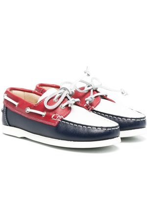 MONTELPARE TRADITION Loafer in Colour-Block-Optik