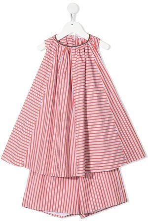 Brunello Cucinelli Kids Mädchen Outfit Sets - Zweiteiliges Set mit Streifen