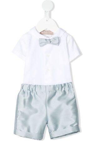 LA STUPENDERIA Zweiteiliger Babyanzug mit Hemd