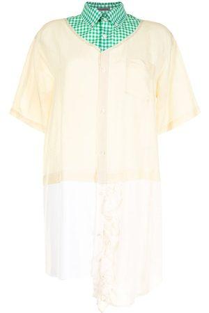 Sueundercover Damen Blusen - Hemd mit Einsätzen