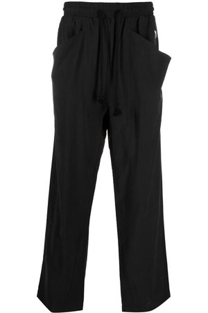 MOUTY Drawstring-waist trousers