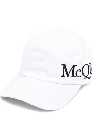 Alexander McQueen Baseballkappe mit Logo-Stickerei