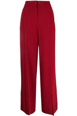 Colville Damen Hosen & Jeans - Taillenhose mit weitem Bein