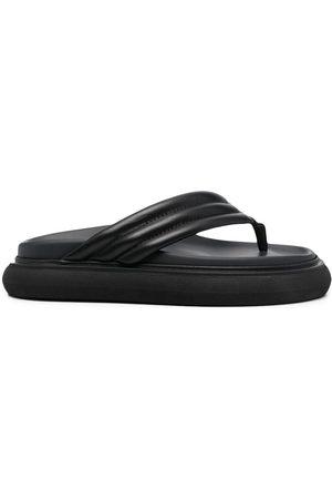 The Attico Flip-Flops aus Leder