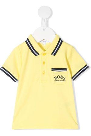 BOSS Kidswear Poloshirt mit Streifendetail