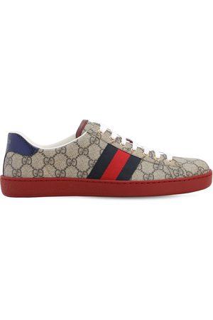 "Gucci 25mm Hohe Sneakers ""ace Gg Supreme"""