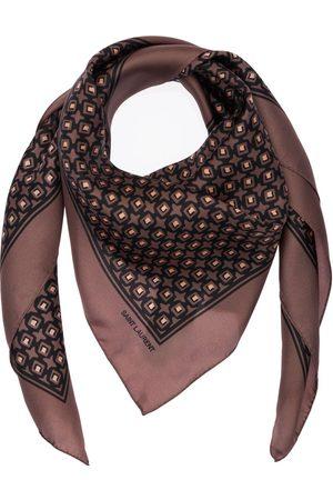 Saint Laurent Herren Schals - Cubique Silk Scarf