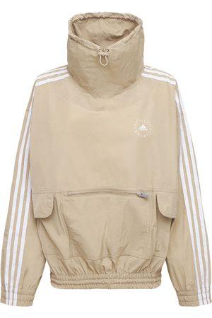 Stella McCartney Sweatshirt Aus Baumwolle Und Technostoff