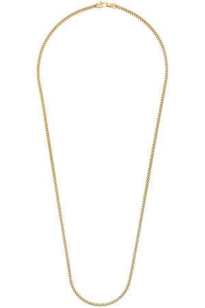 Tom Wood Herren Halsketten - Vergoldete 'Curb L' Halskette