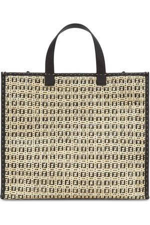 Fendi Herren Handtaschen - Shopper mit FF-Muster