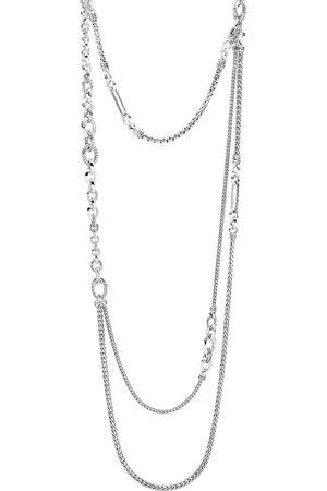 John Hardy Damen Halsketten - Klassische Silberhalskette