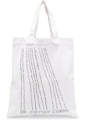 10 CORSO COMO Dots Shopper aus Canvas