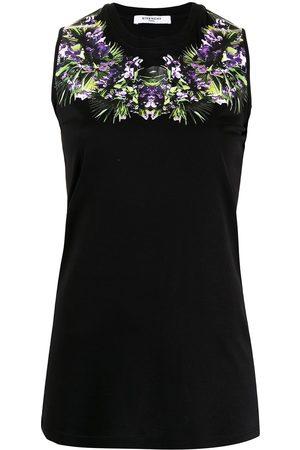 Givenchy Pre-Owned Damen Tanktops - Ärmelloses Top mit Blumen-Print