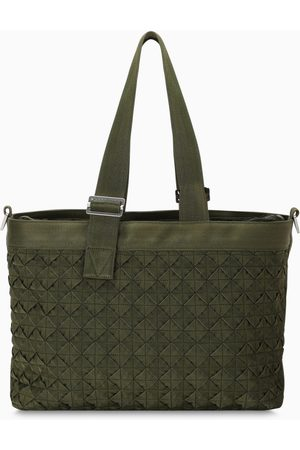 Bottega Veneta Dark green Intrecciato tote bag