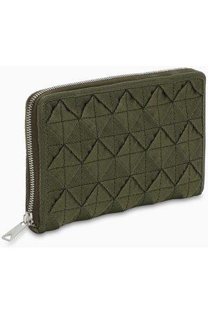 Bottega Veneta Green zip wallet