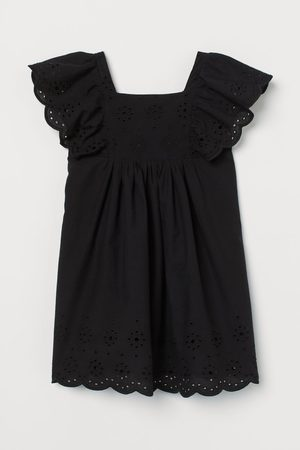 H & M Kleid mit Broderie Anglaise