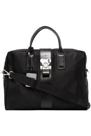 FPM Milano Herren Laptop- & Aktentaschen - Aktentasche mit Lederdetail