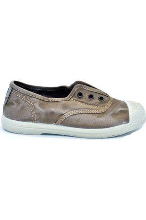 Natural World Jungen Schuhe - Kinderschuhe SLIP ON OLD GRAPE CHILD IN ORGANISCHER BAUMWOLLE