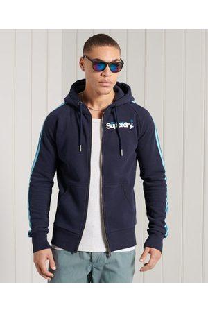 Superdry Herren Sweatjacken - Core Cali Kapuzenjacke mit Raglanärmeln und Logo