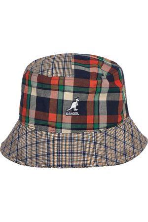 Kangol Plaid Mashup Bucket Hat
