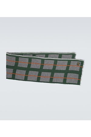 Loewe Paula's Ibiza Karierter Schal aus Leinen
