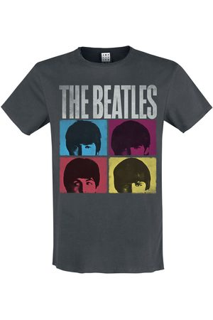 The Beatles Amplified Collection - Hard Days Night T-Shirt charcoal