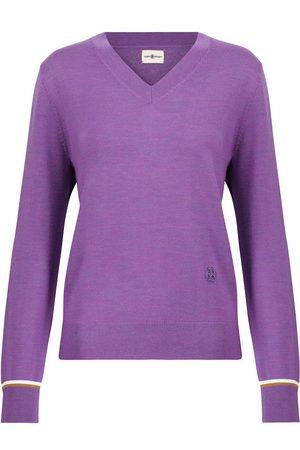 Tory Sport Pullover aus Merinowolle