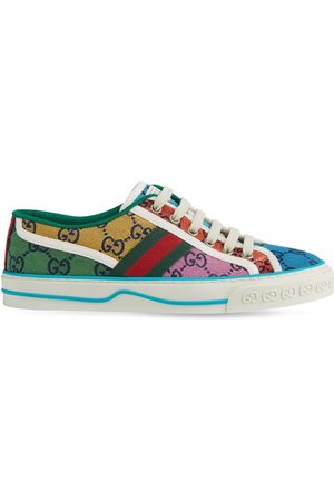 "Gucci 15mm Tennis-sneakers Aus Canvas ""gg Multicolor"""
