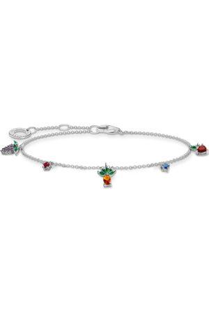 Thomas Sabo Damen Armbänder - Armband Bunte Früchte silber