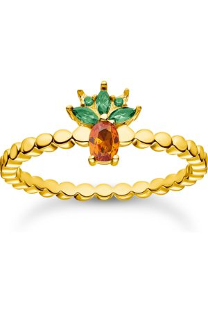 Thomas Sabo Damen Ringe - Ring Ananas gold
