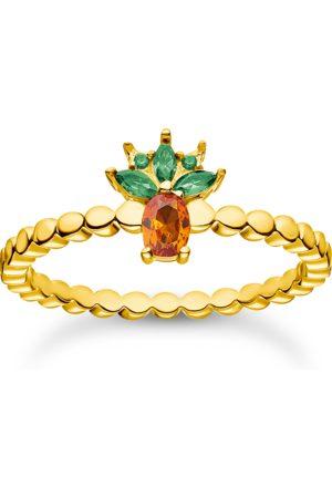 Thomas Sabo Damen Ringe - Ring Ananas gold