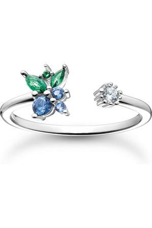 Thomas Sabo Damen Ringe - Ring Blaubeere silber