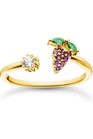Thomas Sabo Damen Ringe - Ring Weintraube gold