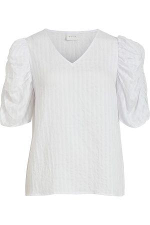 VILA Damen T-Shirts, Polos & Longsleeves - Shirt 'Muria