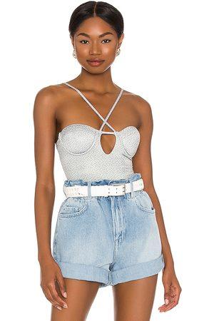 Lovers + Friends Damen T-Shirts, Polos & Longsleeves - Maysen Bodysuit in . Size XS, S, M, XL.