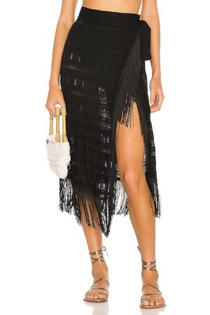 House of Harlow X REVOLVE Brayden Knit Skirt in . Size M.